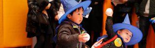 親子で力を合わせて魔法つかいになって遊園地で冒険をしたよ!